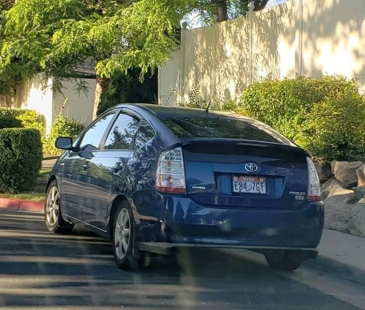 Emily Jolley Vehicle - Blue 2008 Toyota Prius